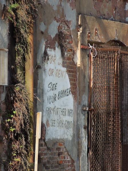 Painted Wall, Savannah GA