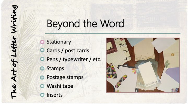 Beyond the word: Stationary - image of various stationary sets.