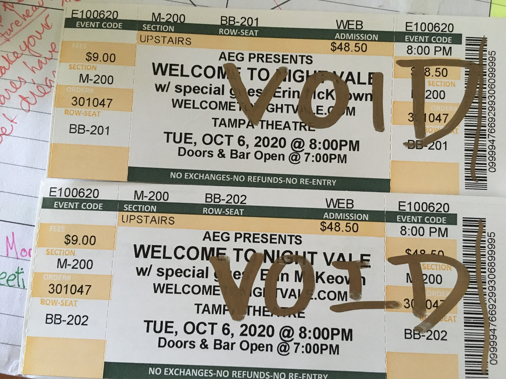 Voided Tickets