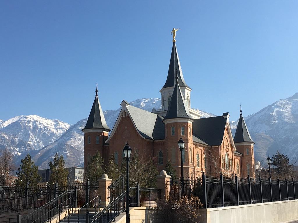 Provo LDS church